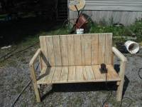Upcycled Pallet Bench - 11 Unique Ideas - 101 Pallet Ideas