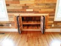 Pallet Wall for Living Room - 101 Pallet Ideas