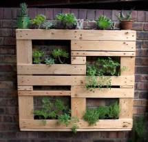 Inspiring Diy Pallet Planter Ideas