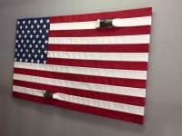 Pallet Flag for Wall Art - 101 Pallet Ideas