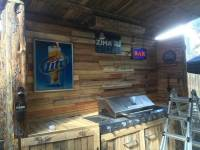 Upcycled Pallet Outdoor Kitchen - 101 Pallet Ideas