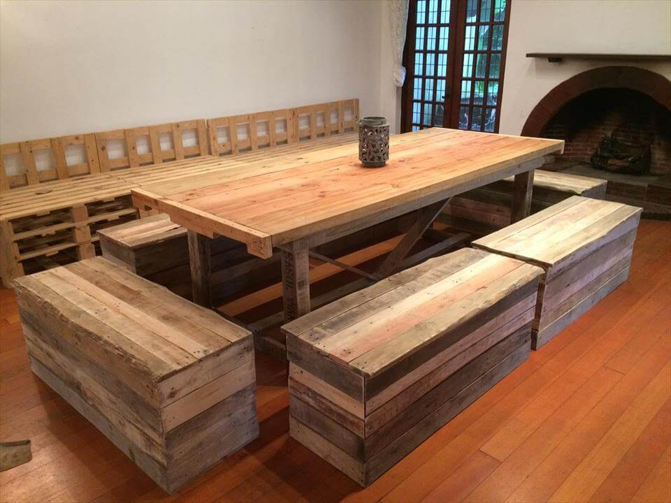 125 Awesome DIY Pallet Furniture Ideas Page 7 Of 12