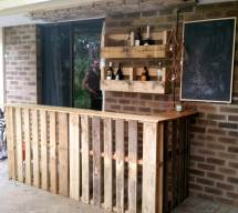 50 -loved Pallet Bar Ideas & Projects