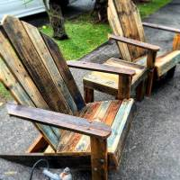 Outdoor Pallet Bar & Patio Furniture