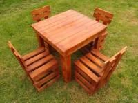 DIY Wood Pallet Outdoor Furniture Ideas