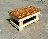 Diy Pallet Coffee Table. DIY Wood Pallet Coffee Table With ...