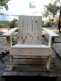 Adirondack Chair Made out of Pallets