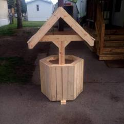 Diy Pallet Sofa Table Instructions Wrought Iron Set Online India Build Easy Wishing Well - 101 Ideas