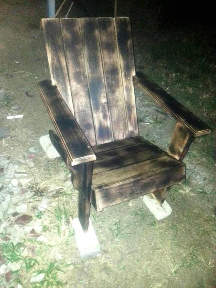 sofa set designs with storage coaster futon bed removable armrests brown vinyl pallet adirondack skull chair & painted flag - diy