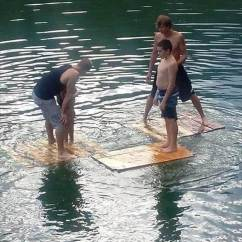 Pool Floating Lounge Chair For Desk Without Wheels Diy Pallet And Swim Noodles Dock - 101 Ideas