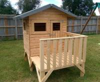 DIY Small Pallet Playhouse For Kids - 101 Pallet Ideas