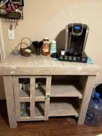 Wood Pallet Kitchen Table or Bar Table