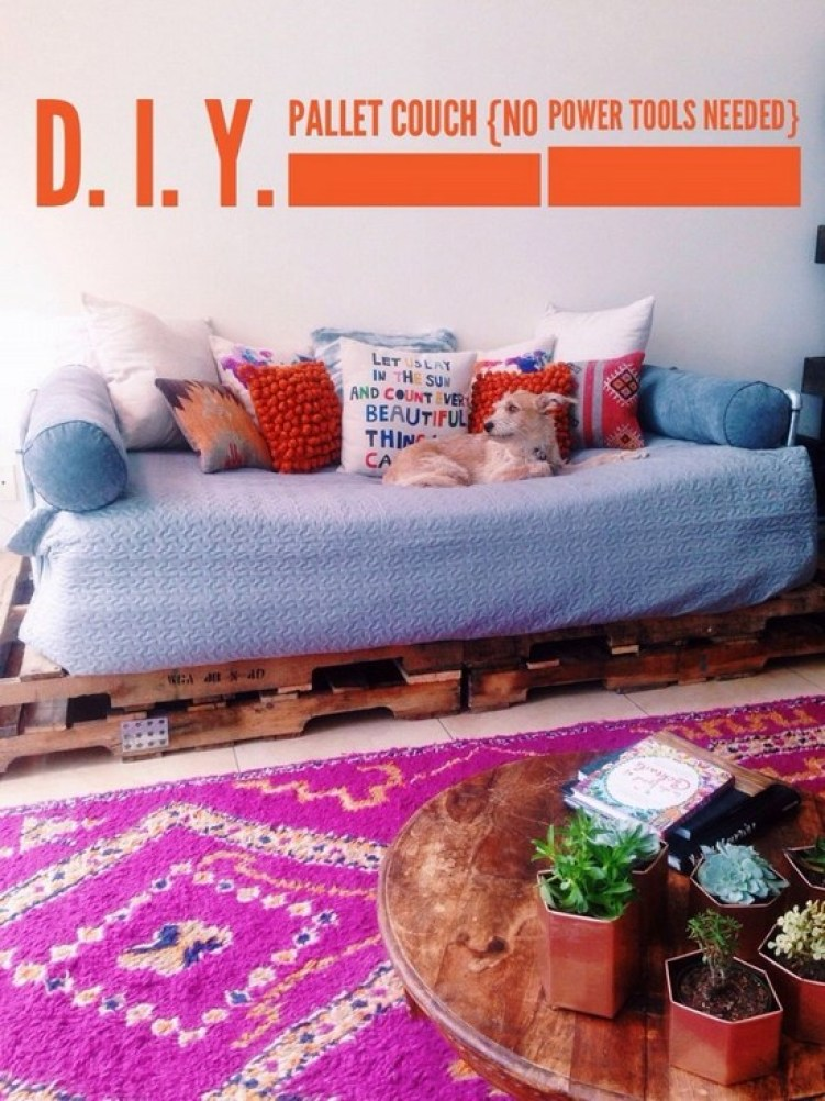 The 6 Easiest Ideas To Make DIY Pallet Sofa