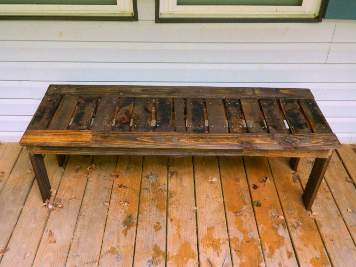 DIY Benches from Pallets