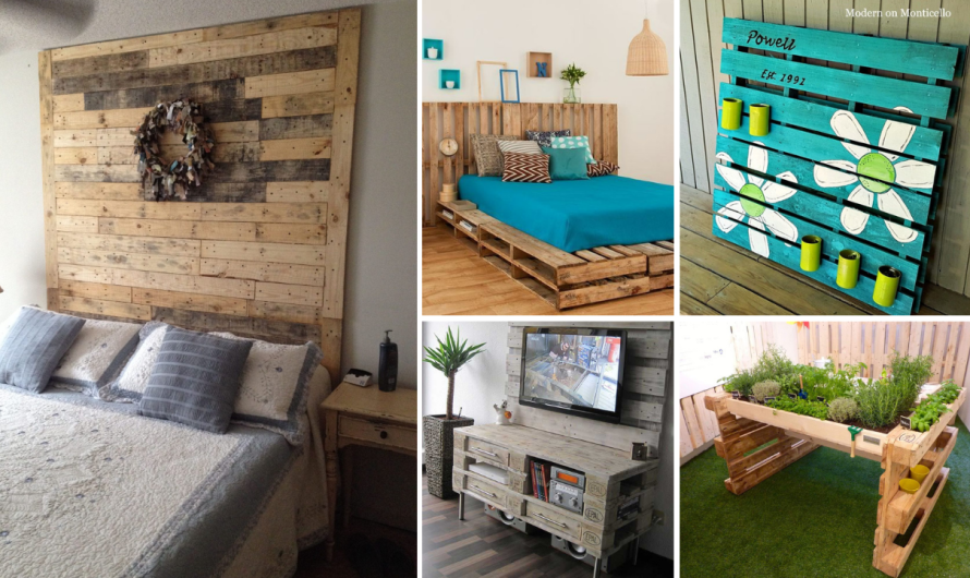 35+ Sharing DIY Pallet Wood Ideas and Projects