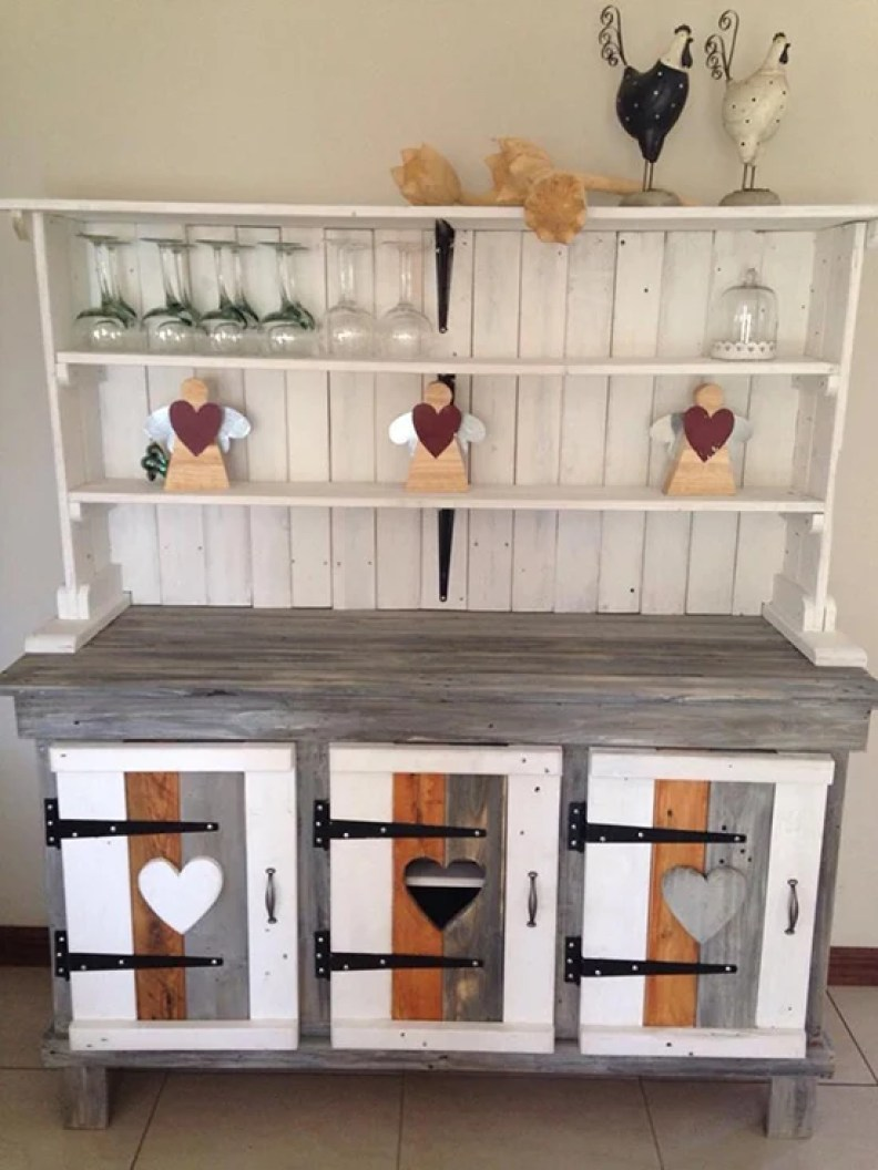 pallet kitchen cabinet and sideboard
