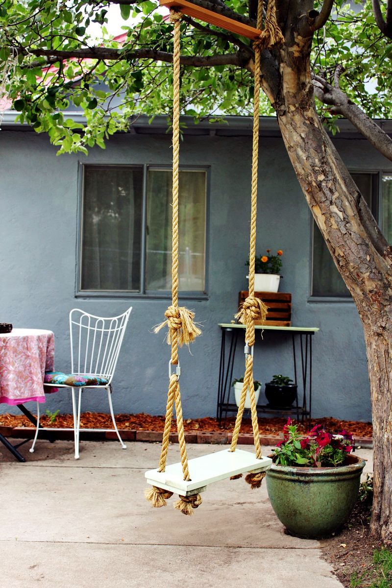 MAKE YOUR OWN TREE SWING