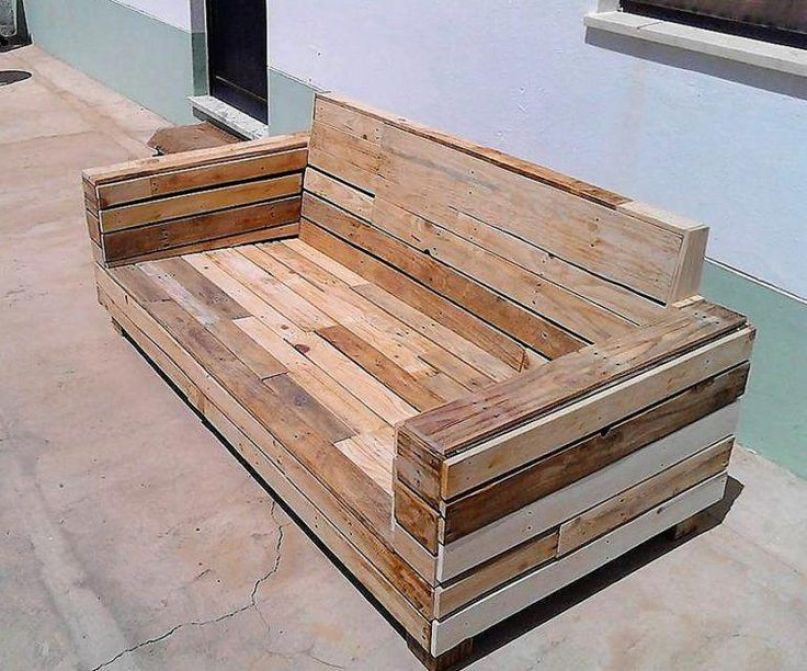 wooden pallet couches