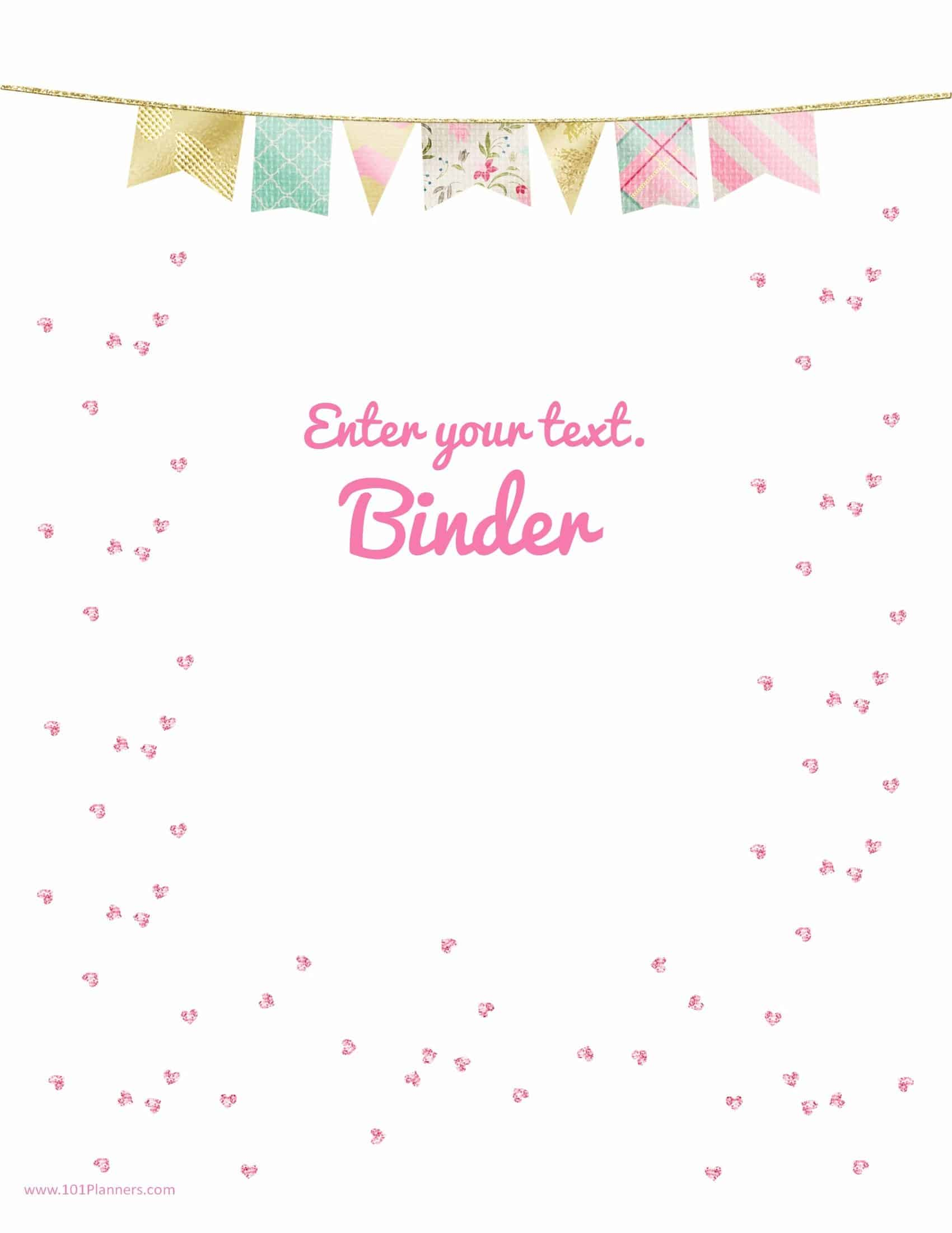 Pink Sequins With A Pastel Colored Border