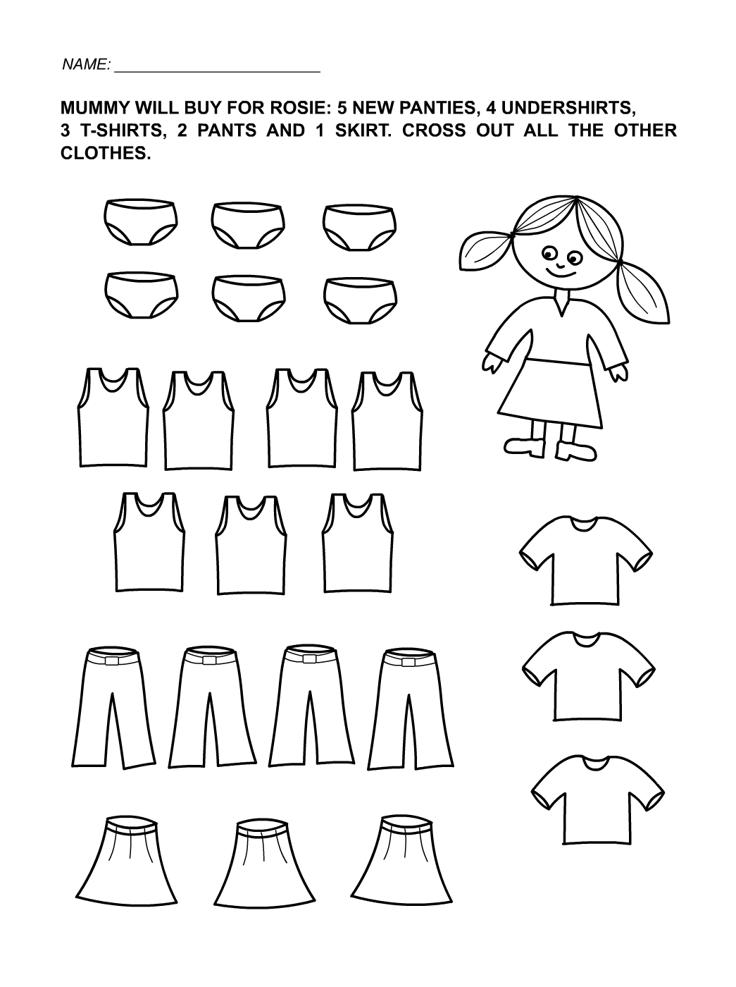 Fun Kids Worksheets