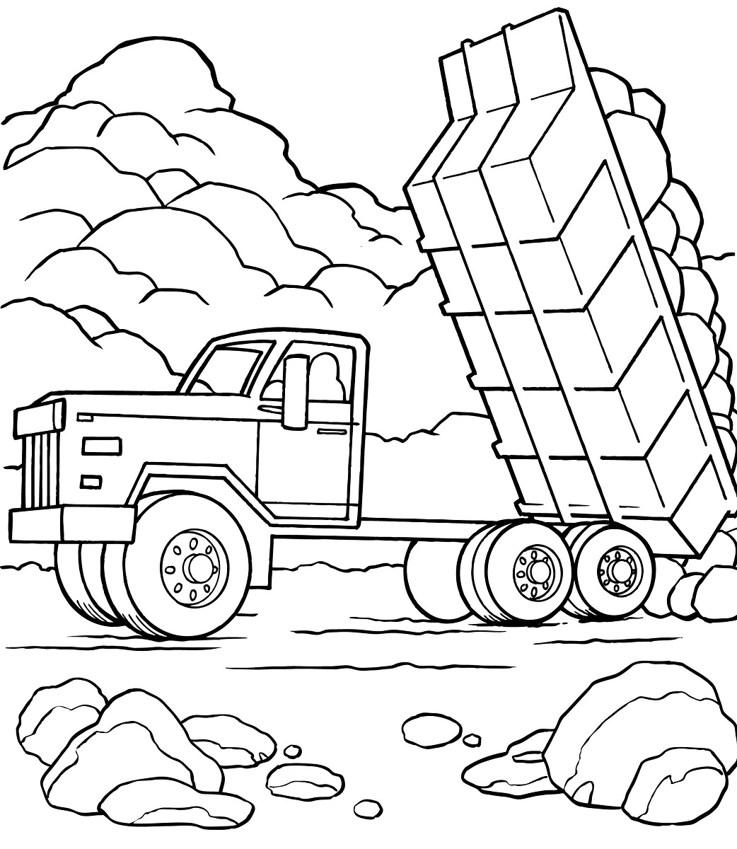 Dump Truck Pictures For Kids