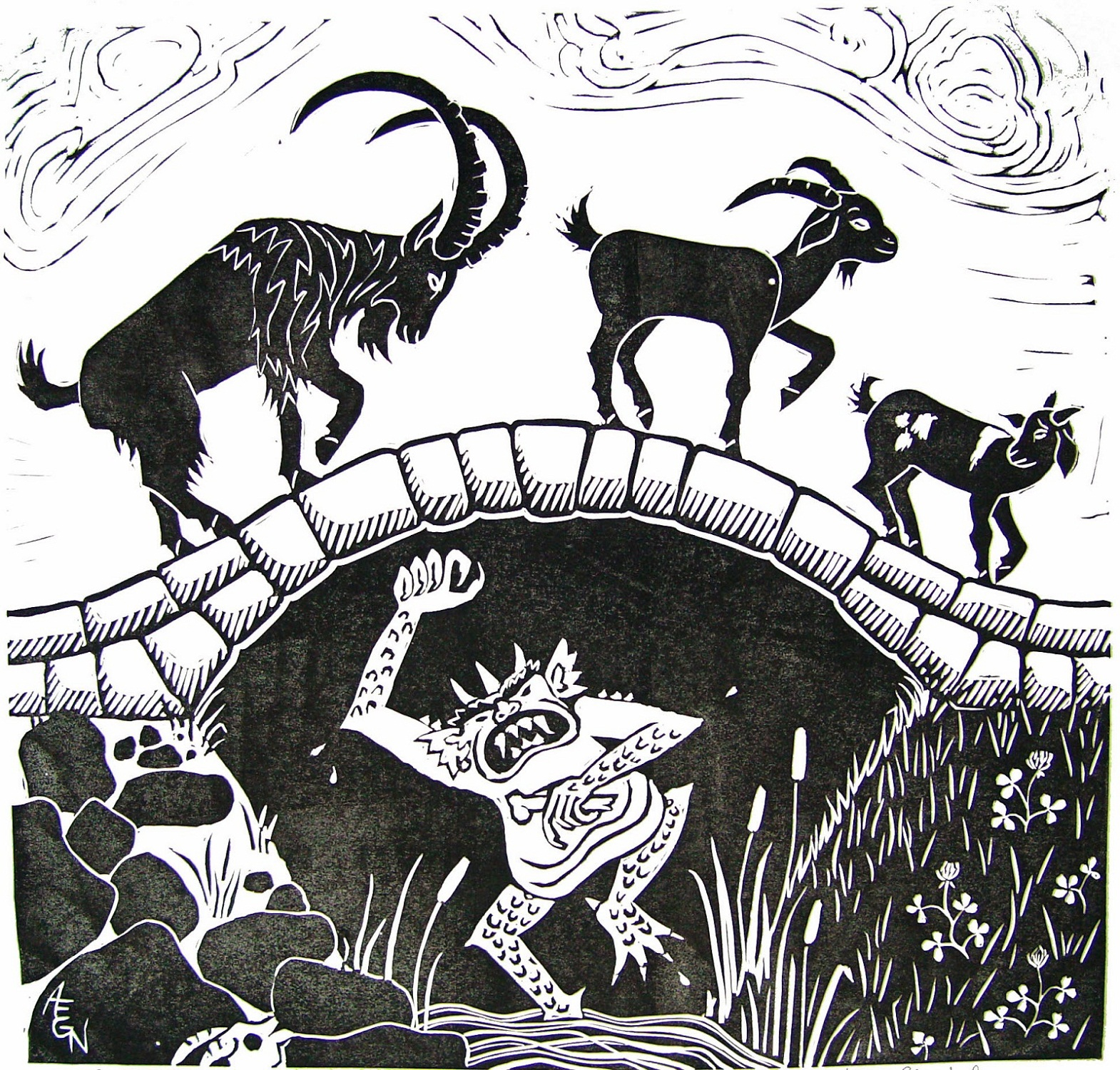The Three Billy Goats Gruff Activities For Story Telling
