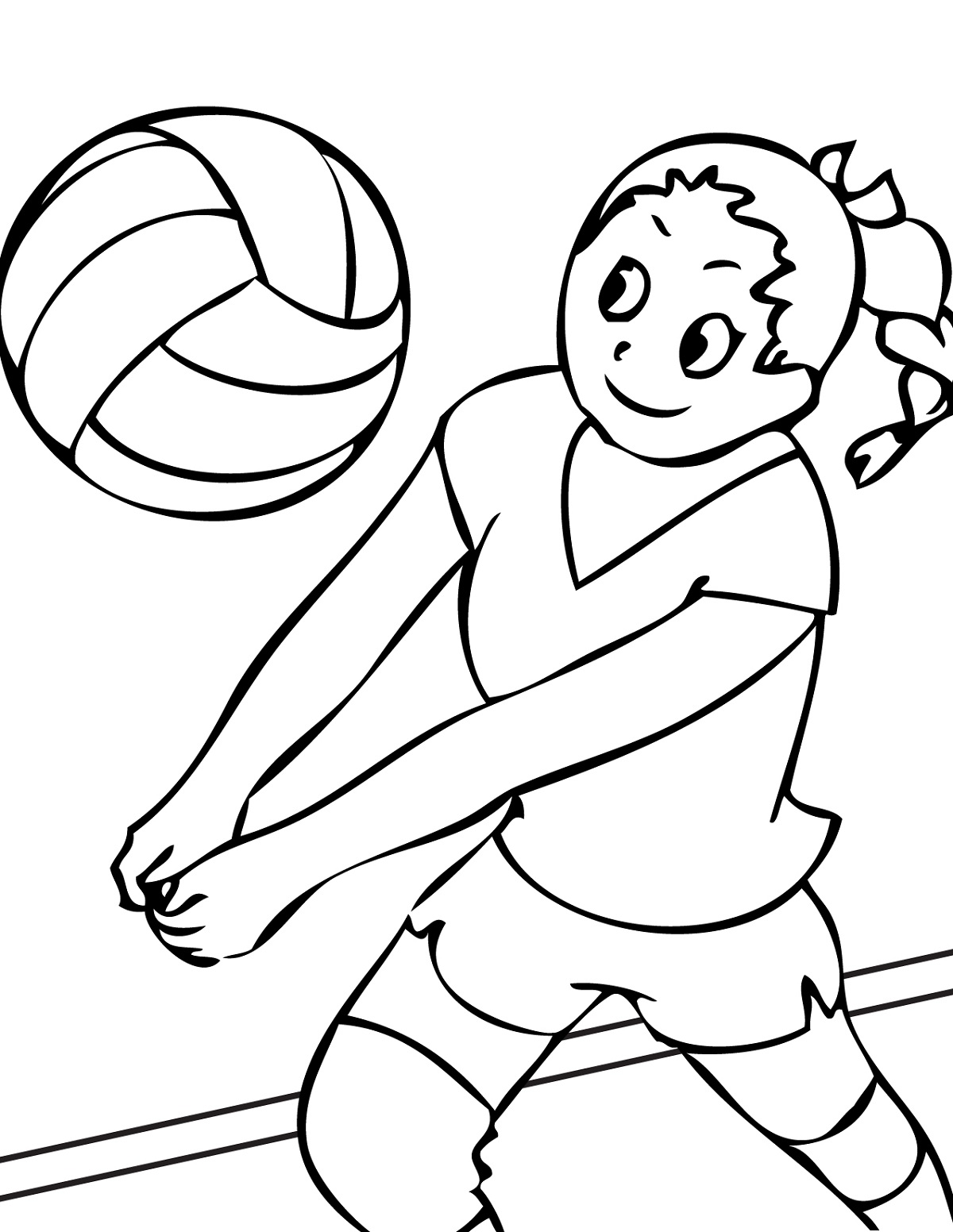 Sports Worksheets For Kids Cute