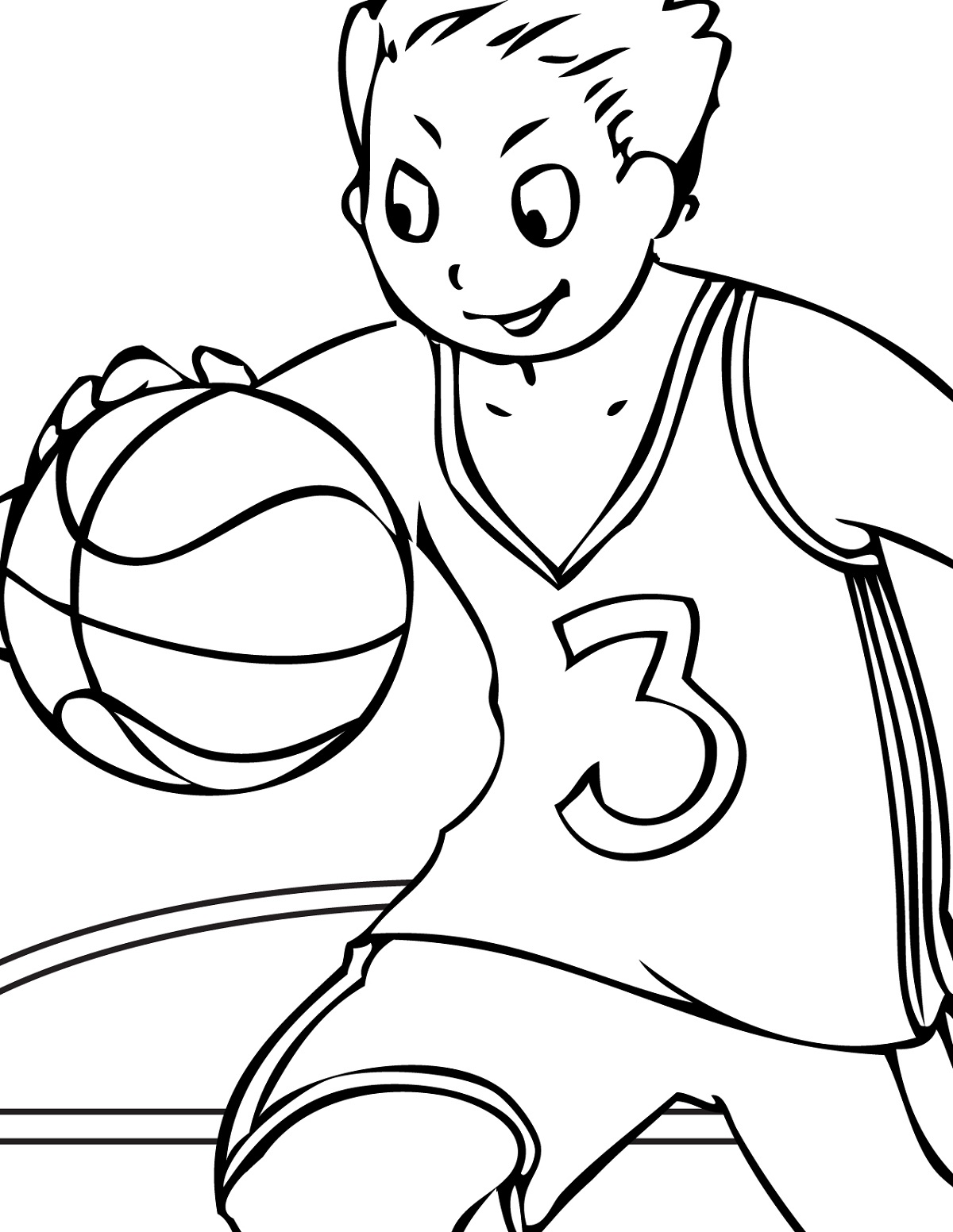 Basketball Activities Worksheet For Kids