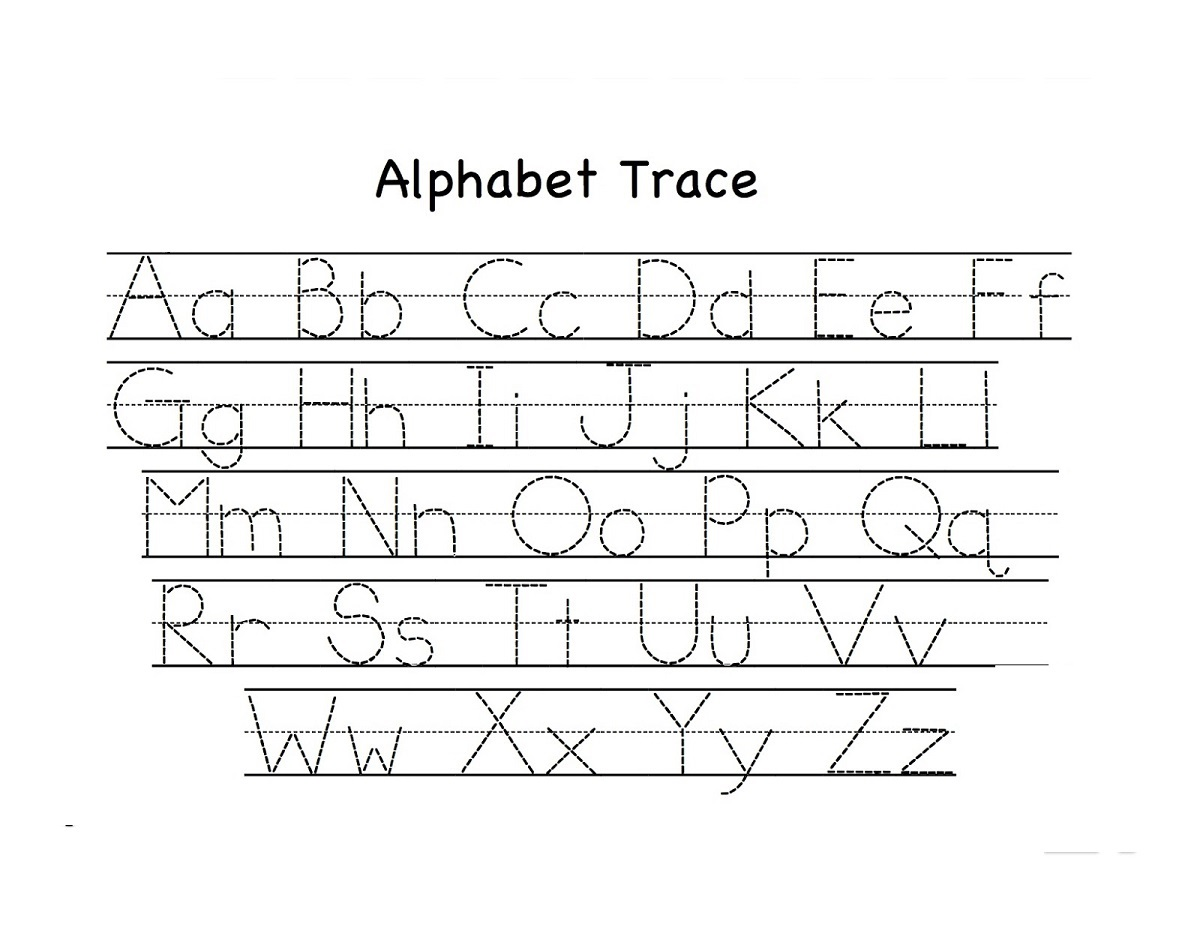Printable Abc Alphabet Worksheets For Kids