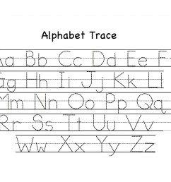 Printable ABC Alphabet Worksheets for Kids   101 Printable [ 927 x 1200 Pixel ]