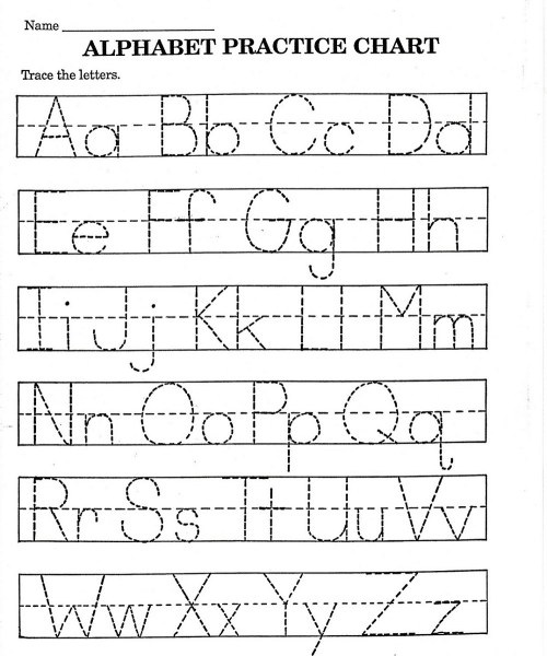 small resolution of ABC Printable Worksheet for Kindergarten   101 Printable