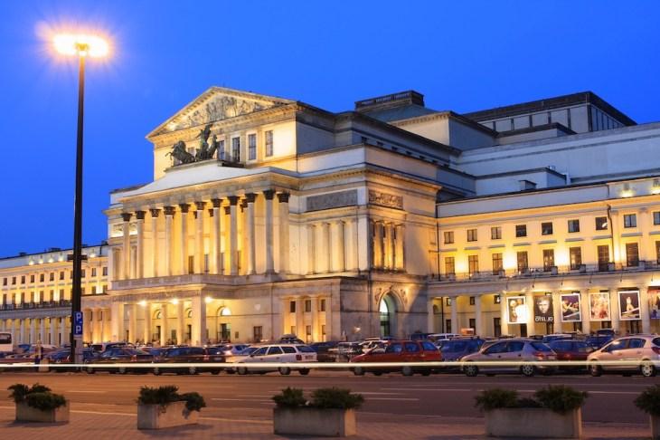 Gran Teatro Wielki - Ópera nacional, visitas, horario y dirección ...