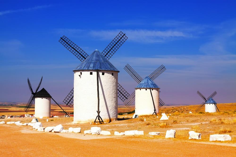 Molinos de viento de Campo de Criptana Ciudad Real