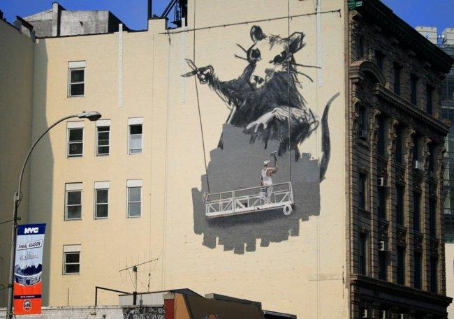 Banksy y el graffiti el aerosol como medio de protesta