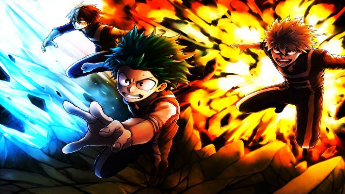 Having made the choice to continue on with your decision to install wallpaper in your home, you will find that there are still more things to look at when you are wanting to create a perfect look in your home. My Hero Academia Windows 10 theme [Dark/Light mode ...