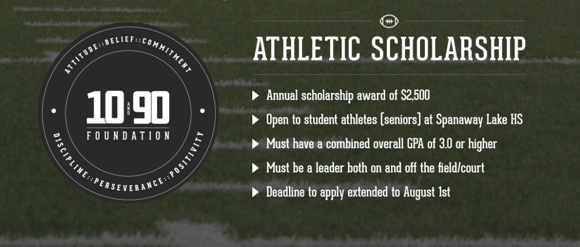 The 10 and 90 Foundation Athletic Scholarship