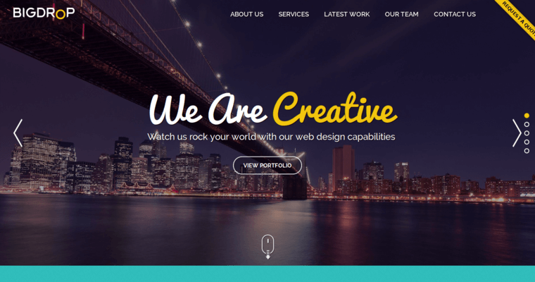 Big Drop Inc Leading Website Design Firms 10 Best Design