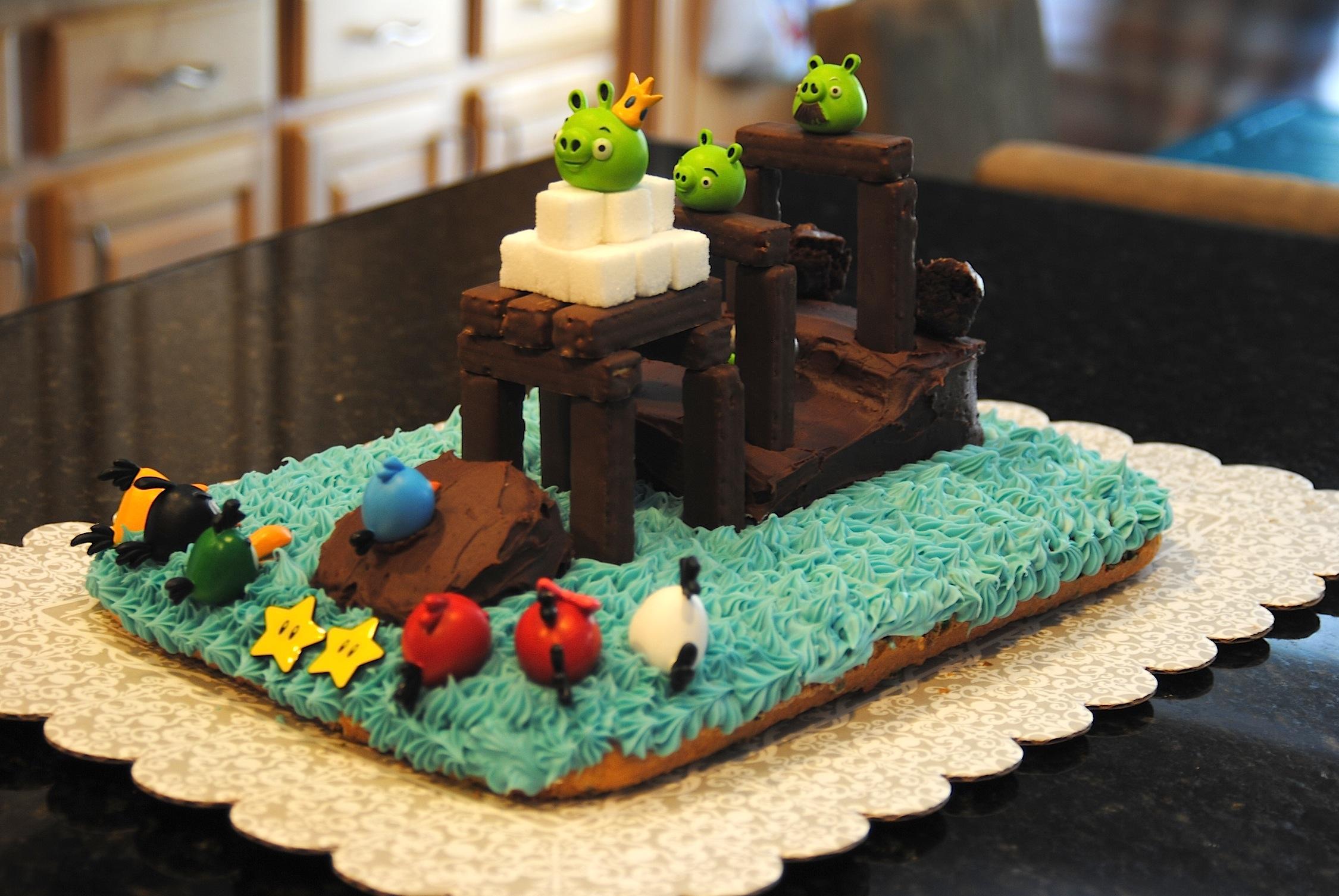 10 Buck Dinners Angry Bird Cake