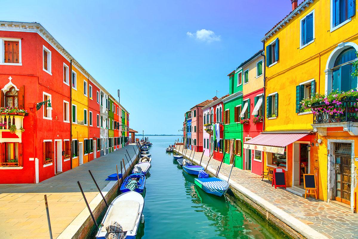 LIsola di Burano a Venezia