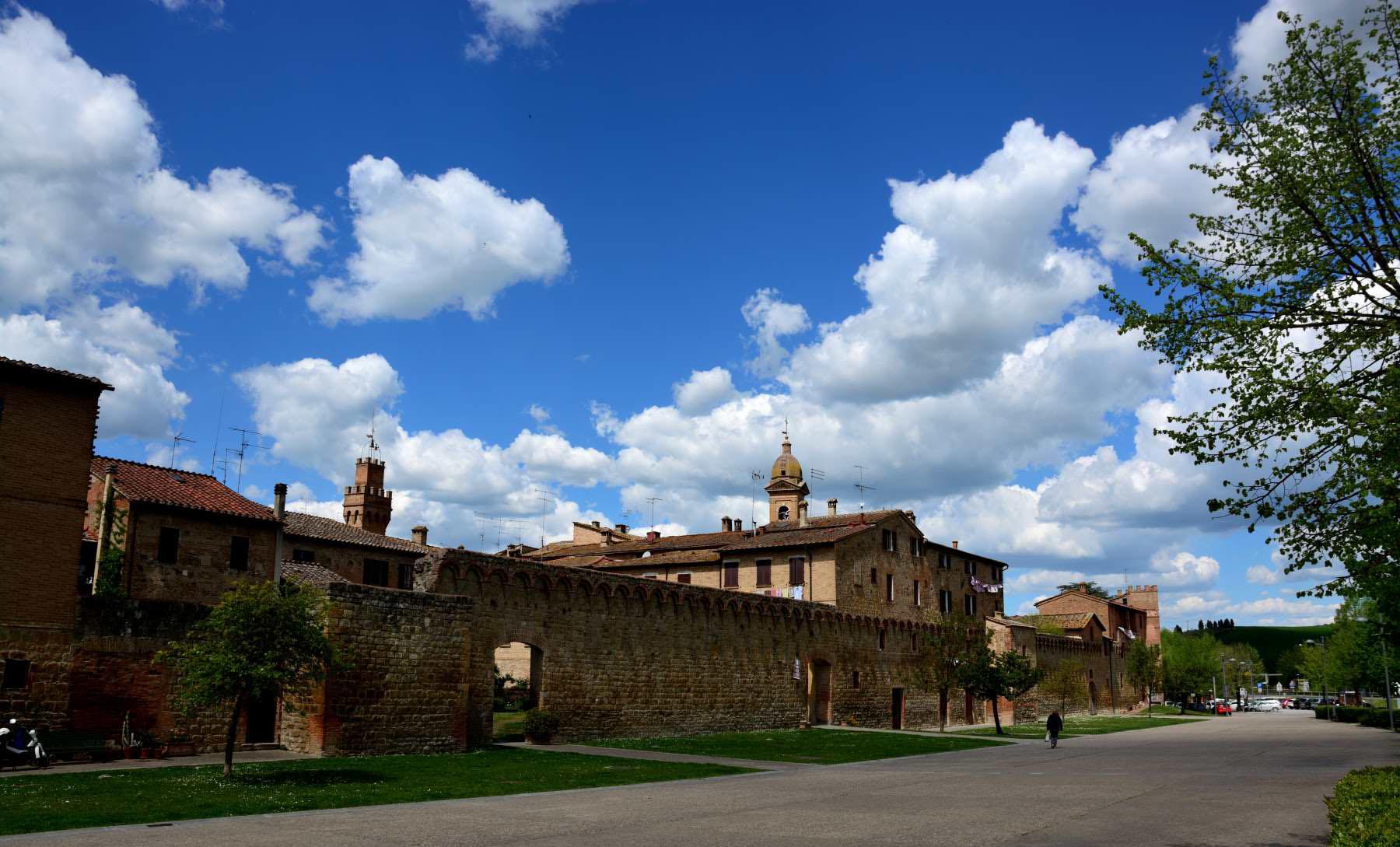Buonconvento a Siena  Il borgo di Buonconvento