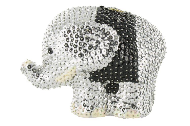 elephant en polystyrene 10 cm