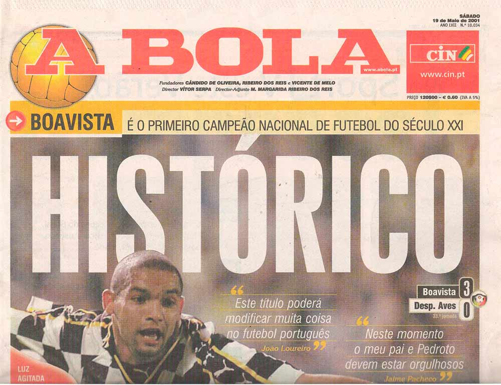 Image result for boavista 00-01