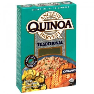 Eat Quinoa for breakfast. Gain ten (10) pounds in thrity (30) days.