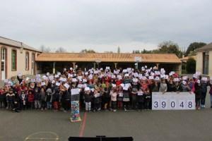 Compteur collectif de deux écoles de Vendée