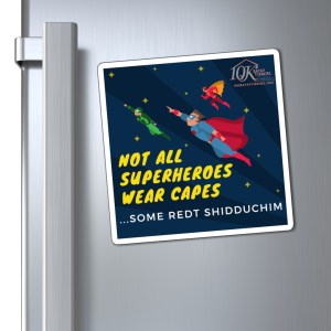 Shadchan Superhero Magnets