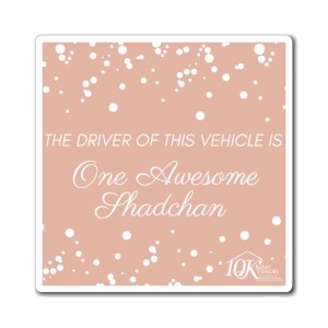 One Awesome Shadchan Magnet