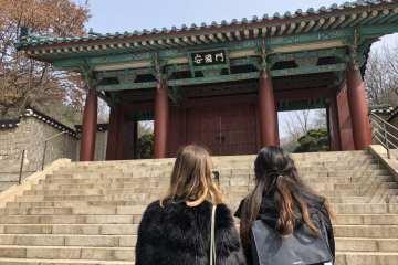 Korea Women Buddhism Nakseongdae Park