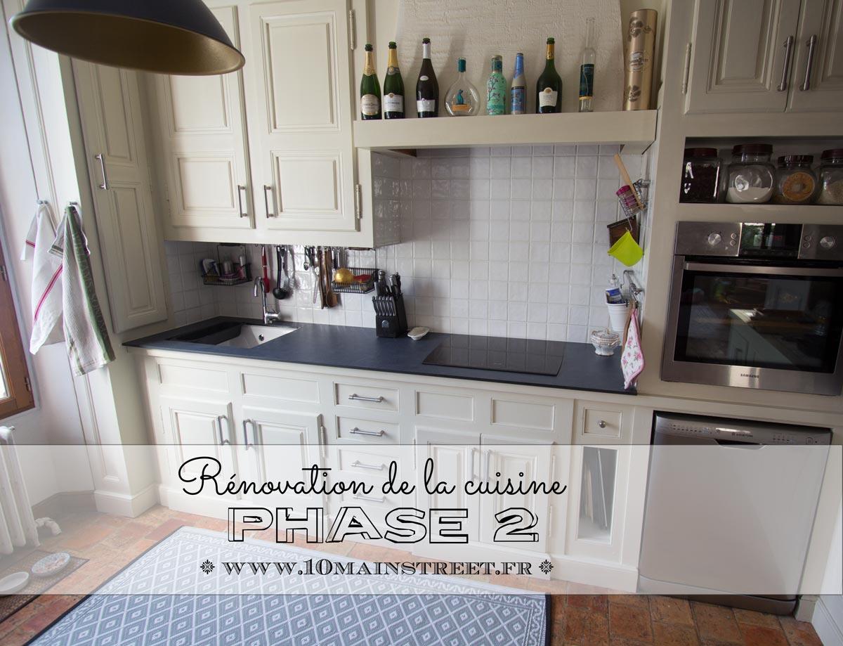 Phase 2 De La Renovation De La Cuisine Plan De Travail Et Evier