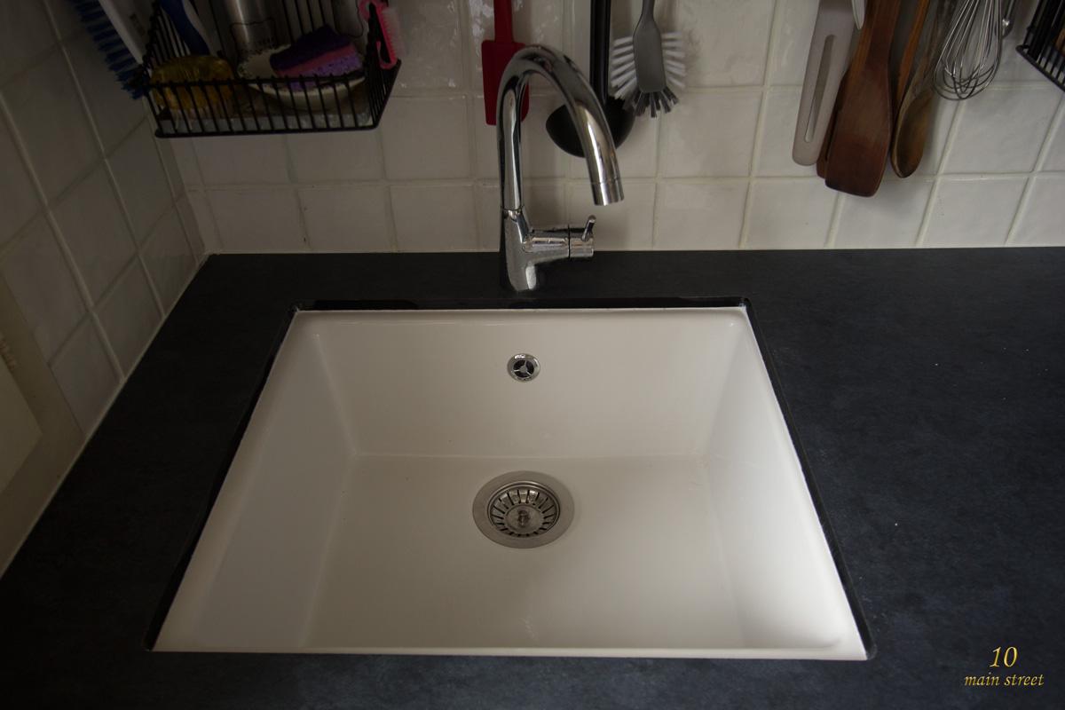 Single Bowl Undermount Sink