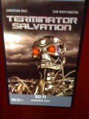 RedBox Generic Terminator Salvation Poster
